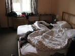 Mir Hostel, bed #8