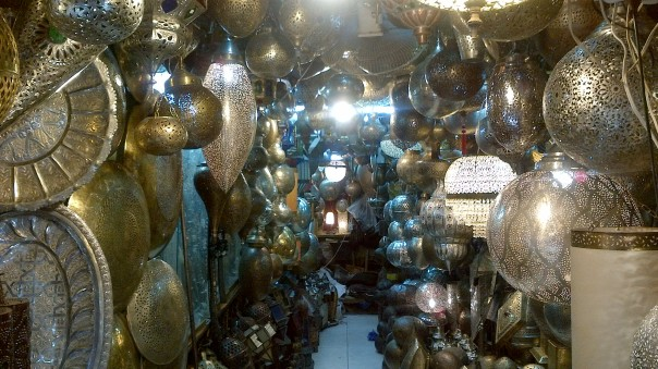 Lantern Shop, Marrakech