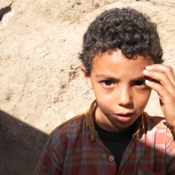 Beautiful Berber boy, Morocco