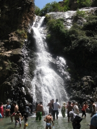 Waterfall 1 of 7 at Setti Fatma, Ourika Valley, Morocco
