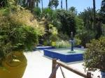 One of the fountains inside the garden,Marrakech