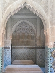 Arches at the Saadian Tombs, Marrakech