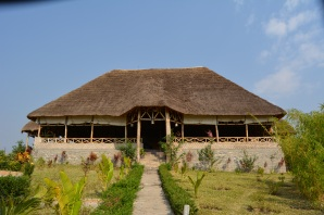 Another lodge somewhere by Queen Elizabeth National Park
