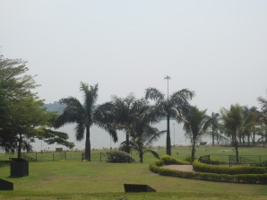 A beach in the city, Munyonyo